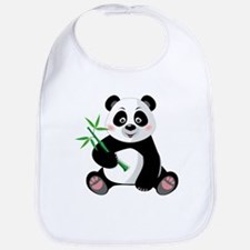 Panda with Bamboo-3 Bib