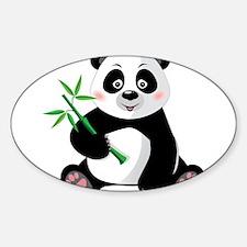Panda with Bamboo-3 Decal