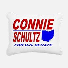 ART Connie Schultz for S Rectangular Canvas Pillow