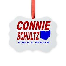 ART Connie Schultz for Senate Ornament