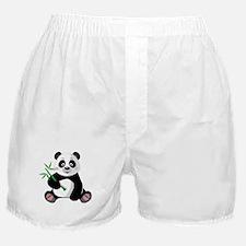 Panda with Bamboo-3 Boxer Shorts