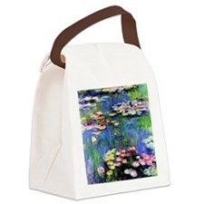 MONETpillow Canvas Lunch Bag