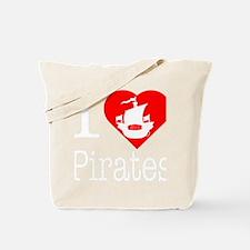 I-Heart-Pirates-dark Tote Bag