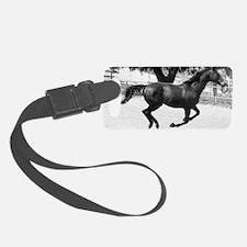Galloping Horse mini wallet Luggage Tag