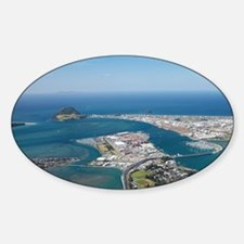 Tauranga Harbour and Mount Maunganu Decal