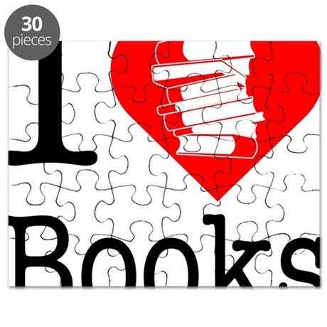 I-Heart-Books Puzzle