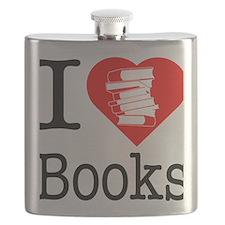 I-Heart-Books Flask