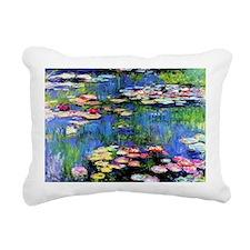 MONETCalender Rectangular Canvas Pillow