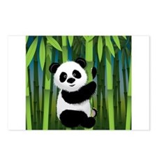 Panda in Bamboo Postcards (Package of 8)