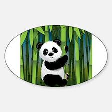 Panda in Bamboo Decal