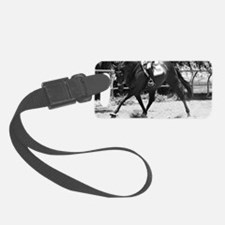 Horse Trot mini wallet Luggage Tag