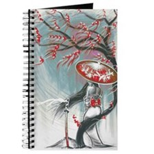 Kindle Sleeve Samurai Woman Journal