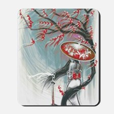 Kindle Sleeve Samurai Woman Mousepad