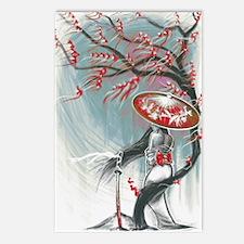 Kindle Sleeve Samurai Wom Postcards (Package of 8)
