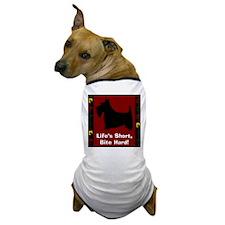 LIFE'S SHORT, BITE HARD! (filmclip) Dog T-Shirt