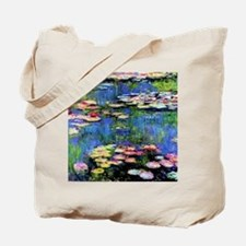 MONETWATERLILLIESprint Tote Bag