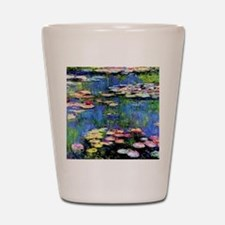 MONETWATERLILLIESprint Shot Glass