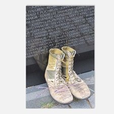 Boots at Vietnam Veterans Postcards (Package of 8)