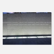 MLK Darkness and Love Postcards (Package of 8)