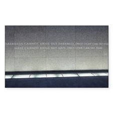 MLK Darkness and Love Decal