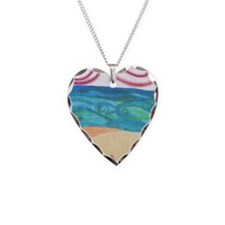 wind ocean sand Necklace