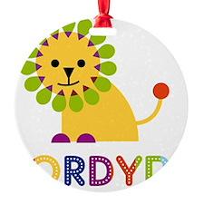 Jordyn-the-lion Ornament