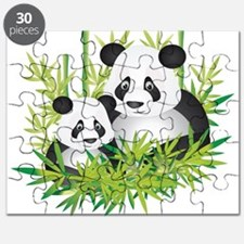 Two Pandas in Bamboo Puzzle