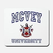 MCVEY University Mousepad