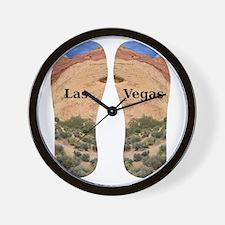 LasVegas_10.526x12.85_FlipFlops Wall Clock