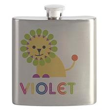 Violet-the-lion Flask