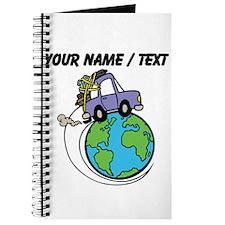 Custom Driving Around The World Journal