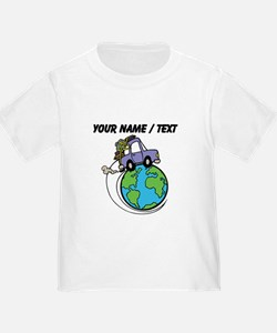 Custom Driving Around The World T-Shirt