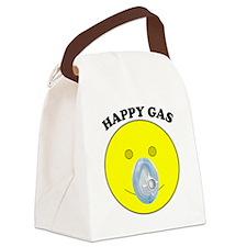 Happy Gas Canvas Lunch Bag