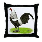 Birchen OE Cock Throw Pillow
