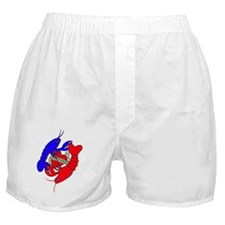 lobster love big.gif Boxer Shorts