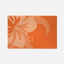 Orange-Toiletry Rectangle Magnet