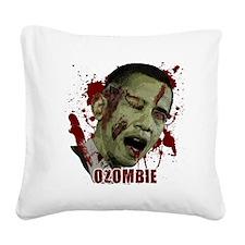 Ozombie Square Canvas Pillow