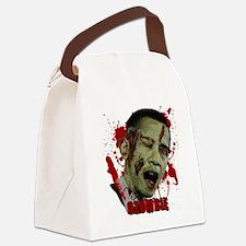 Ozombie black Canvas Lunch Bag