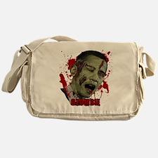 Ozombie black Messenger Bag