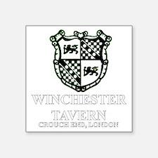 """Winchester Crest one color Square Sticker 3"""" x 3"""""""