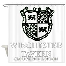 Winchester Crest one color Shower Curtain