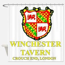Winchester Crest full color Shower Curtain