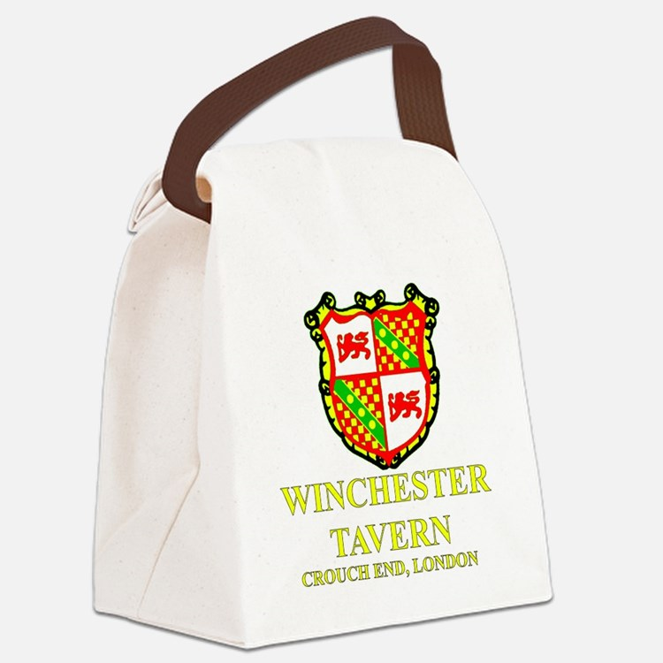 Winchester Crest full color Canvas Lunch Bag