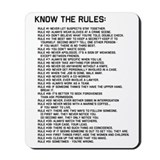 Gibbs rules Classic Mousepad