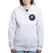 starfleet command emblem Zip Hoodie