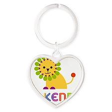 Makenna-the-lion Heart Keychain