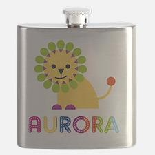 Aurora-the-lion Flask