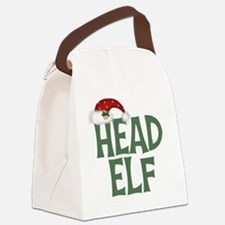 Head Elf Canvas Lunch Bag