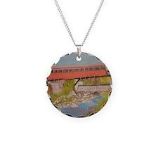 Taftsville Covered Bridge IV Necklace