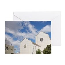 St Johnis Anglican Cathedral, Napier Greeting Card